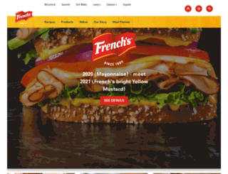 frenchs.com screenshot