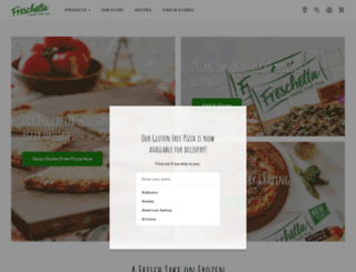 freschetta.com screenshot