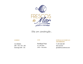 frescosdomar.com screenshot