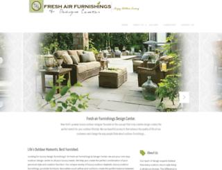freshairfurnishings.com screenshot