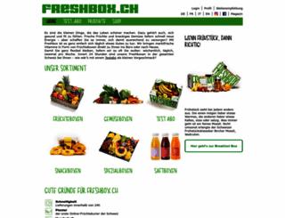 freshbox.ch screenshot