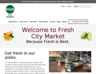 freshcitymarket.com screenshot