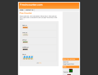freshcounter.com screenshot