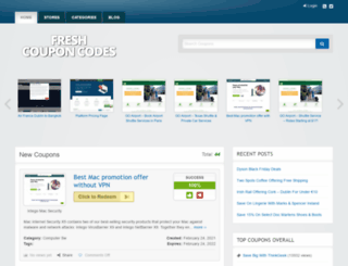 freshcouponcodes.eu screenshot