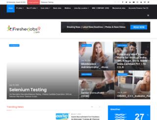 fresherjobs9.com screenshot
