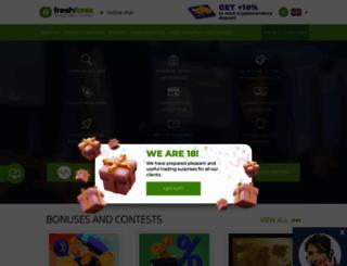 freshforex.net screenshot