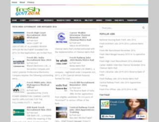freshgovt.com screenshot