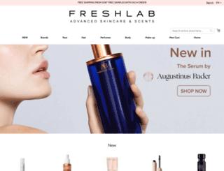 freshlab.be screenshot