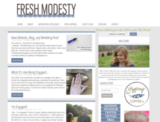 freshmodesty.blogspot.no screenshot