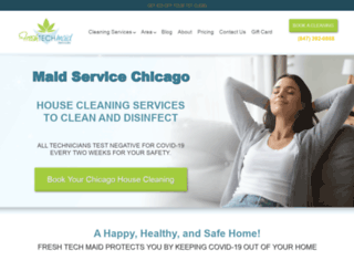 freshtechmaids.com screenshot