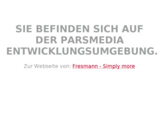 fresmann.parsmedia-online.de screenshot
