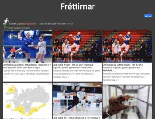 frettirnar.is screenshot