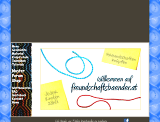 freundschaftsbaender.at screenshot