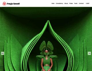 freyjasewell.co.uk screenshot