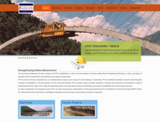 freyssinet-india.com screenshot