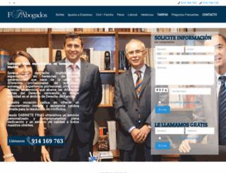 friasabogados.es screenshot