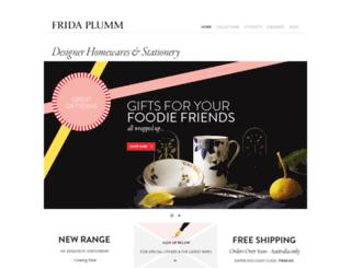 fridaplumm.com.au screenshot