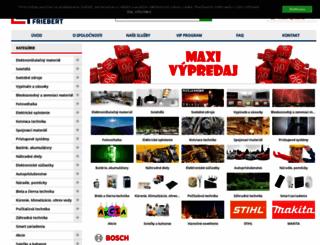 friebert.sk screenshot