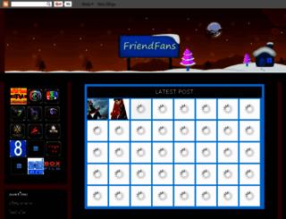 friendfans.blogspot.com screenshot