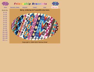 friendship-bracelets.de screenshot