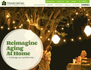 friendslifecare.org screenshot