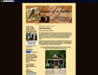 friendsofafeather-artisans.blogspot.com screenshot