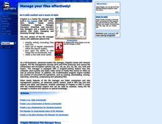frigate3.com screenshot