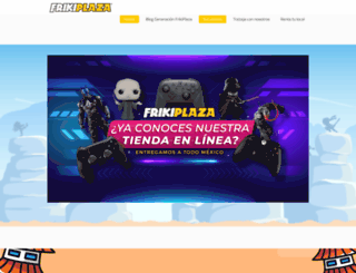 frikiplaza.com screenshot