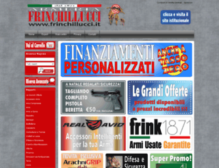 frinchillucci.com screenshot