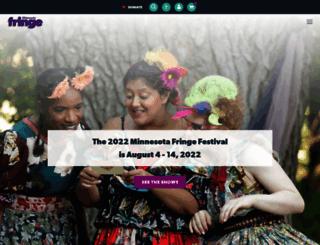 fringefestival.org screenshot