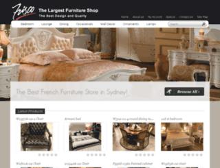 frisco-furniture.com.au screenshot