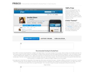friscotheme.com screenshot