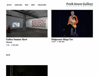 frithstreetgallery.com screenshot