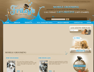 fritzyspetcarepros.com screenshot