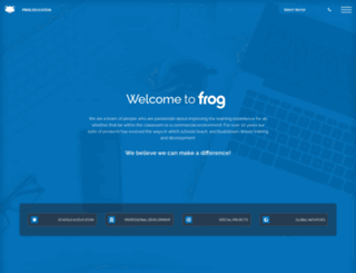 frogeducation.com screenshot