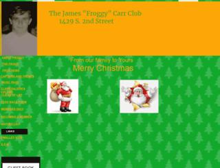 froggycarr.homestead.com screenshot