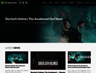 frogwares.com screenshot