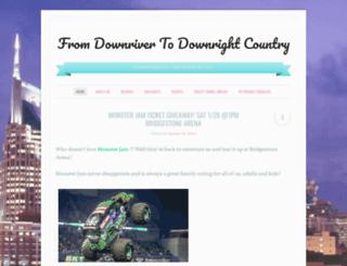 fromdownrivertodownrightcountry.wordpress.com screenshot