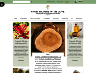 fromnaturewithlove.com screenshot