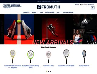 fromuthtennis.com screenshot