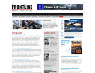 frontline-defence.com screenshot