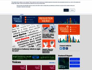 frontlinegenomics.com screenshot