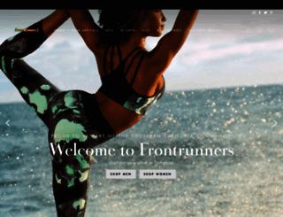 frontrunnersla.com screenshot
