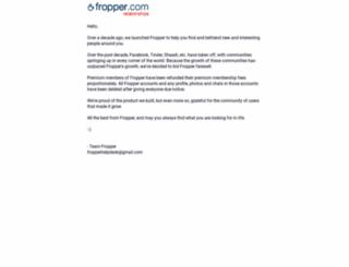 fropper.com screenshot