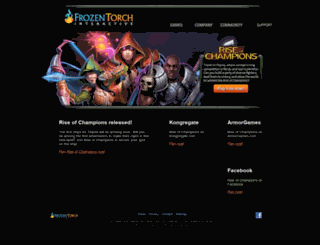 frozentorch.com screenshot