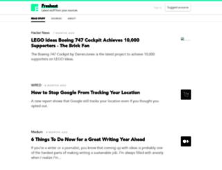 frshst.com screenshot
