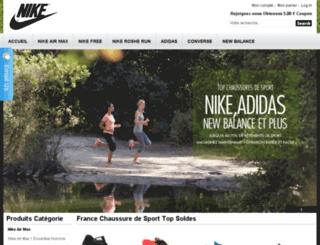 frsportchaussure.com screenshot