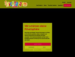 fruchtalarm.info screenshot