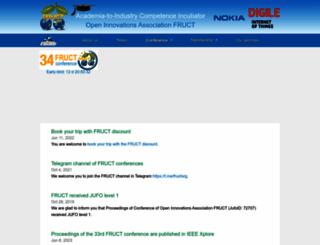 fruct.org screenshot