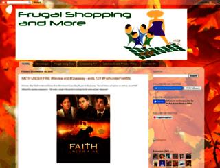 frugal-shopping.com screenshot